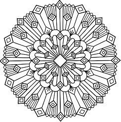 Simple Mandala 11