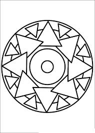 Simple Mandala 12