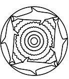 Simple Mandala 15