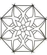 Simple Mandala 16 Coloring Page