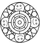 Simple Mandala 18