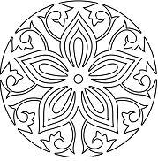 Simple Mandala 20