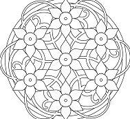 Simple Mandala 5