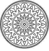 Simple Mandala 6
