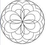 Simple Mandala 7