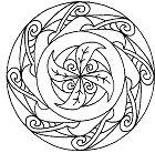 Simple Mandala 8