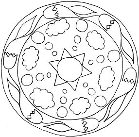 Simple Mandalas 14