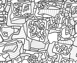 Site Inhabited from Famous paintings Coloring Page
