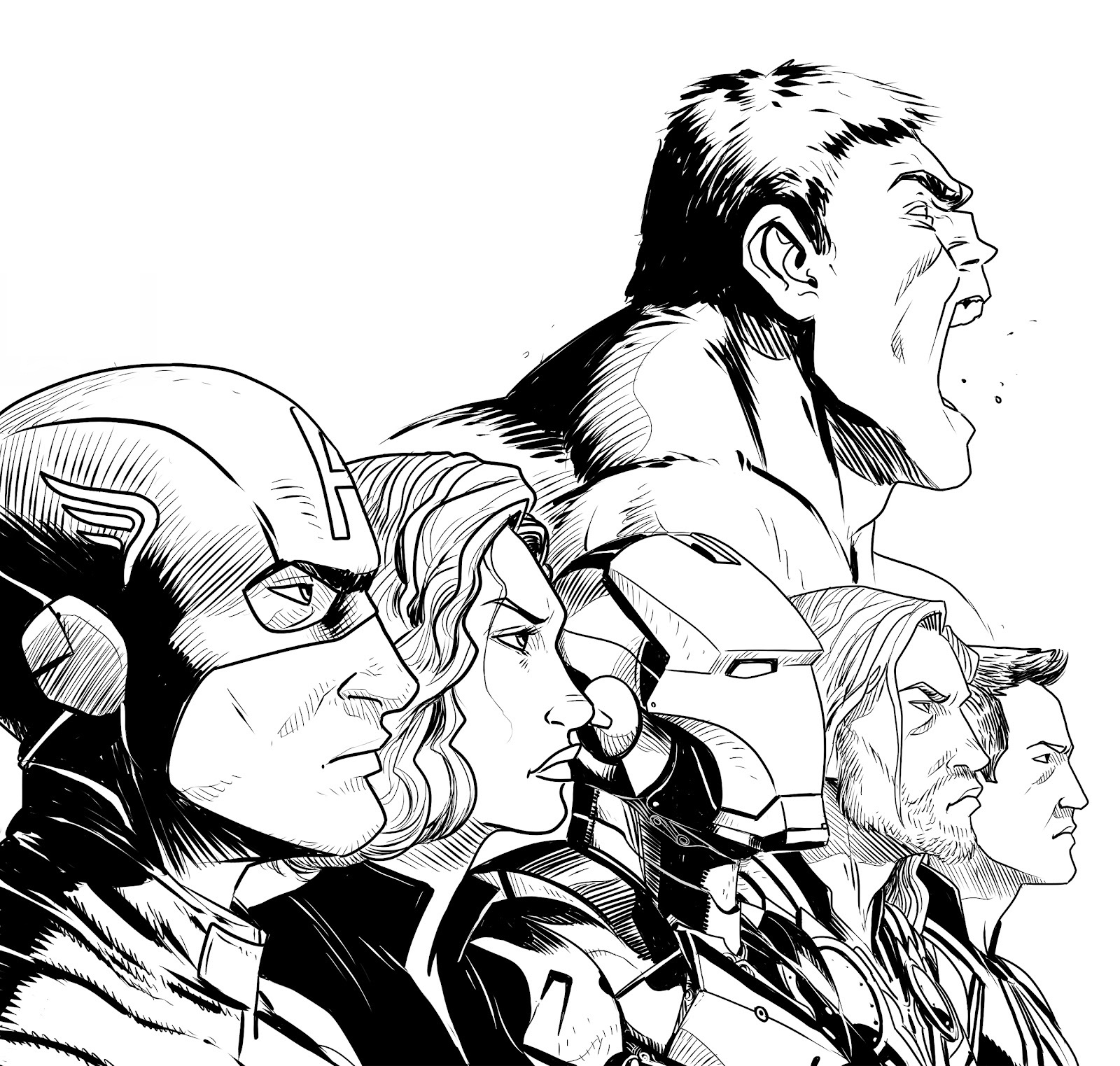 Six Members of Avengers