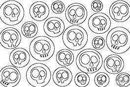 Skulls Pop Art