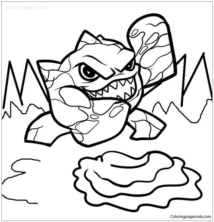 Skylander Giants 2 Coloring Page