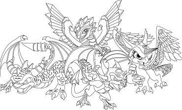Skylanders Dragons