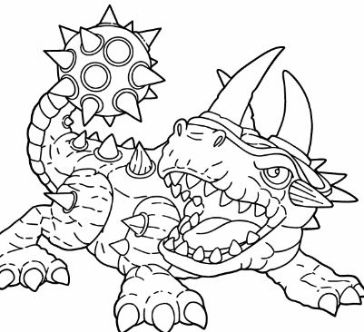 Wolfgang Skylanders Coloring Pages Cartoons Coloring Pages Free Printable Coloring Pages Online