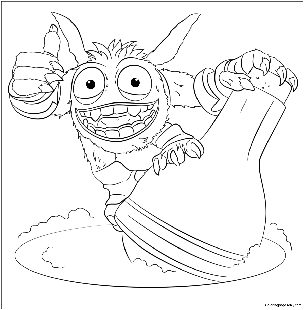 Pop Fizz Coloring Page! | Candy coloring pages, Coloring pages ... | 1225x1199