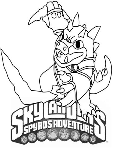Skylanders Spyro's Adventure Dino Rang from Skylanders