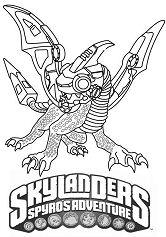 Skylanders Spyros Adventure Drobot