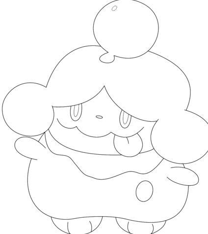 Slurpuff Coloring Page