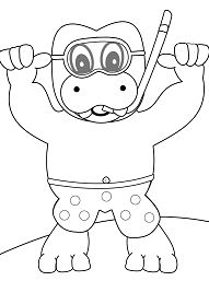 Snorkeling Hippo