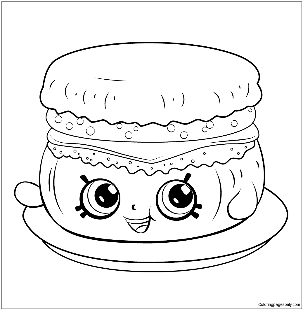 shopkins snow crush coloring pages - photo#17