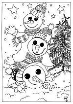 Snowmen For Christmas Eve