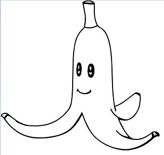 Soar Banana Shopkins Coloring Page