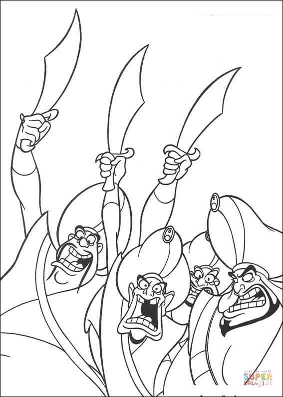 Barrels from Disney Cars Coloring Page