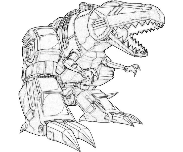 Sound Wave Transformer Coloring Page
