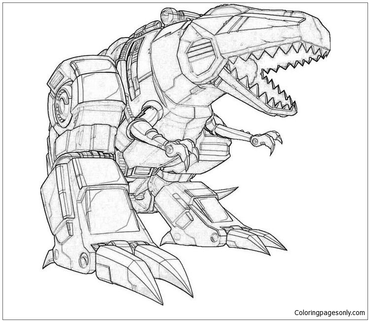 Megatron Of Desepticons coloring picture for kids | 652x749