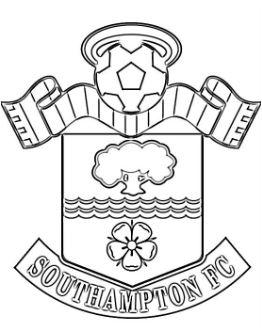 Southampton F.C. Coloring Page