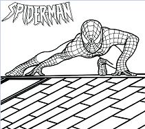 Spider man Homecoming Coloring Page