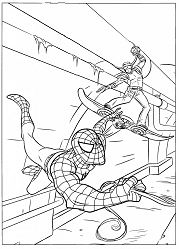 Spiderman 46 Coloring Page