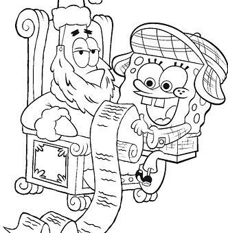 Spongebob And His Christmas Wish List