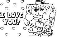 Spongebob For Kids Coloring Page