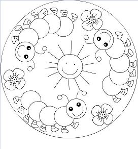 Spring Mandala 1