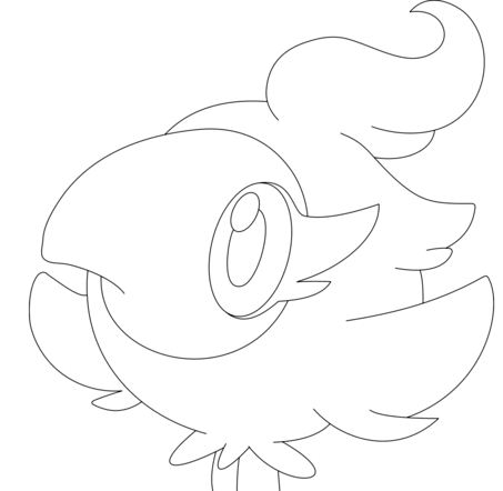 Spritzee Pokemon Coloring Page