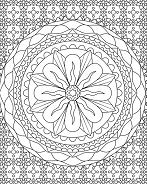 Square Shape Mandala