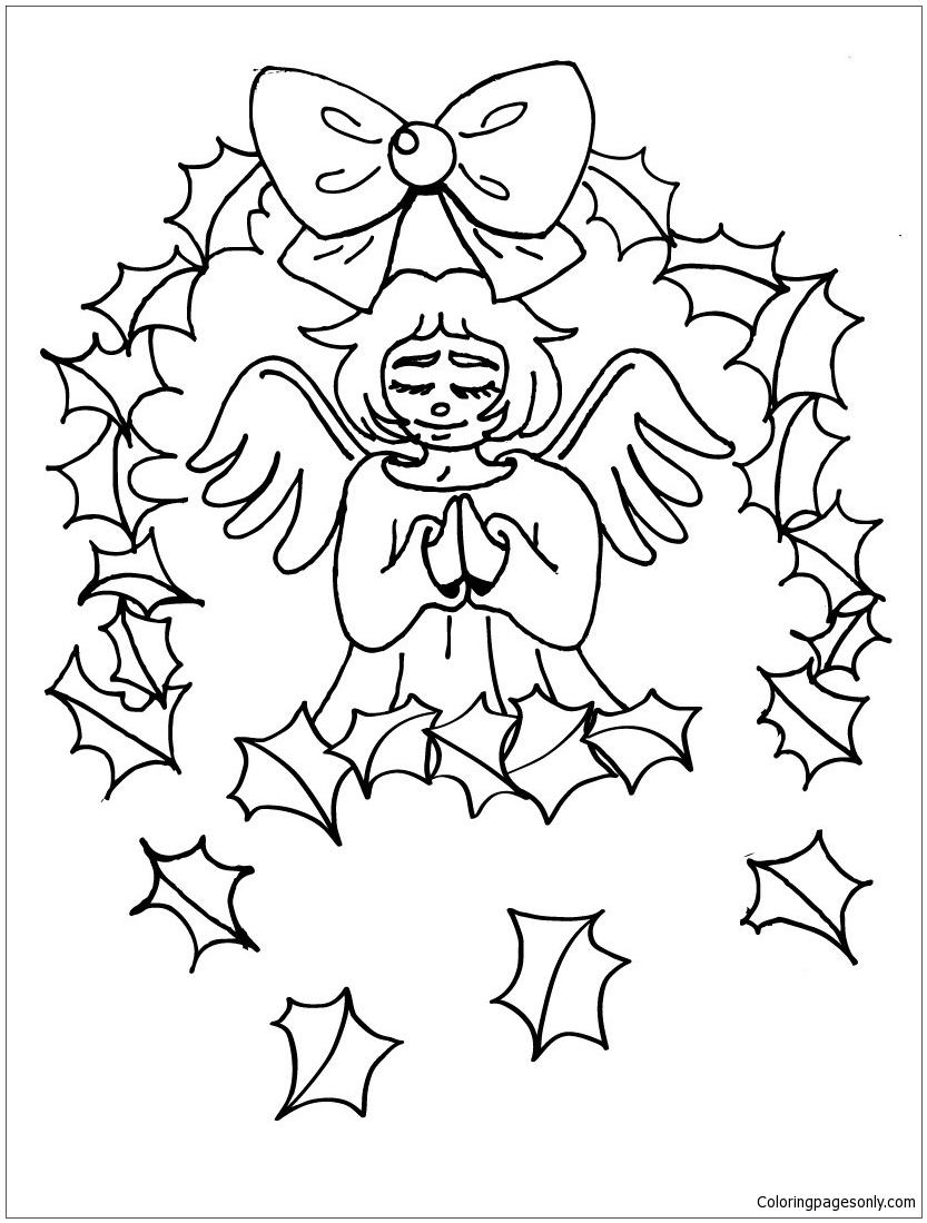 St Gabriel The Archangel Coloring