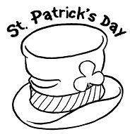 St Patricks Day Shamrock Coloring Page