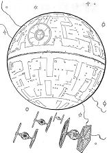 Star Wars 6 Coloring Page