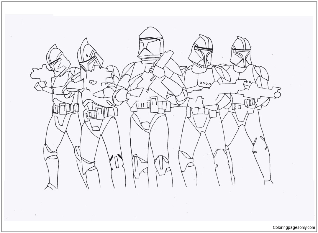 Star Wars Ausmalbilder Stormtrooper Coloring Page Free