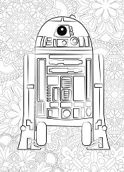 Star Wars C2-B5 Coloring Page