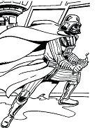 Star Wars Darth Vader Coloring Page