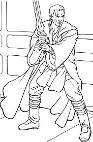 Star Wars For Kids Coloring Page
