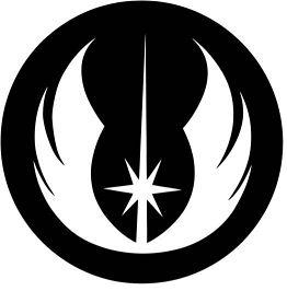 Star Wars Jedi Order Insignia Coloring Page