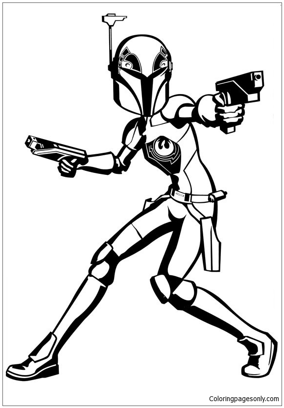 Star Wars Rebels Malvorlagen Coloring Page Free Coloring Pages Online