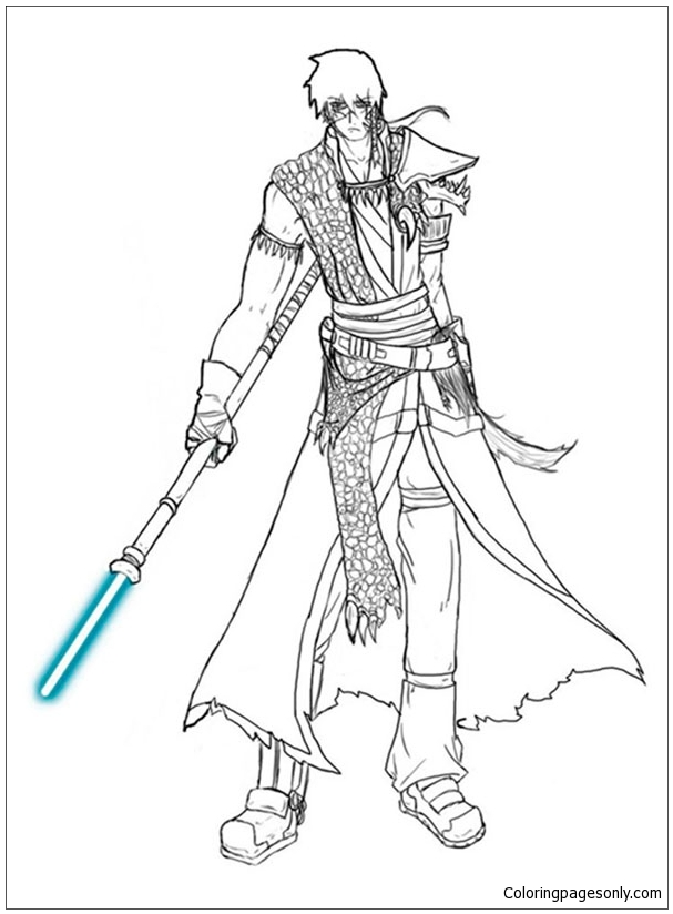Star Wars Clone Trooper Coloring Pages. Source: www ...   824x607