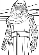 Star Wars The force awakens 1 Coloring Page