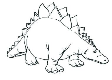 Stegosaurus Armored Stegosaurid Dinosaur
