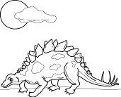 Stegosaurus Dinosaur 1