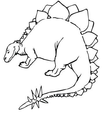 Stegosaurus Jurassic Dinosaur
